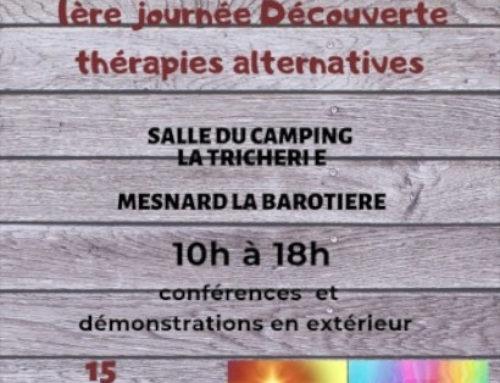 1 er journée des thérapies alternatives